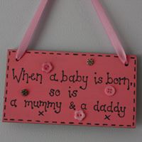 baby room sign
